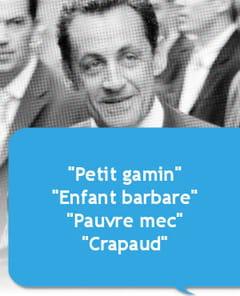 Insultes Nicolas Sarkozy