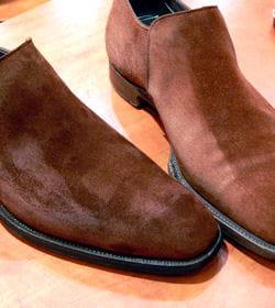 l 39 entretien des souliers en veau velours vos astuces pour bien entretenir les chaussures. Black Bedroom Furniture Sets. Home Design Ideas