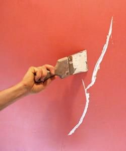 Reboucher une fissure ou un trou dans un mur ces choses for Reboucher un trou dans un mur