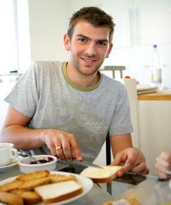 si vous prenez un petit déjeuner classique (3h avant le départ), ne changez pas