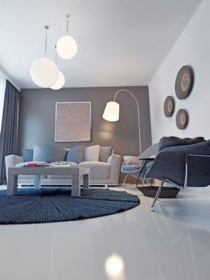 peindre le plafond en blanc brillant des astuces pour rendre une pi ce plus lumineuse. Black Bedroom Furniture Sets. Home Design Ideas