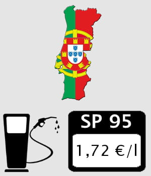 portugal 1 72 euro litre prix des carburants en europe les pays o l 39 essence et le diesel. Black Bedroom Furniture Sets. Home Design Ideas