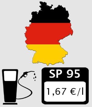 allemagne 1 67 euro litre prix des carburants en europe les pays o l 39 essence et le diesel. Black Bedroom Furniture Sets. Home Design Ideas