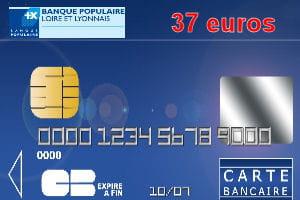 21e ex aequo banque populaire loire et lyonnais avec une carte bleue visa ou mastercard 37. Black Bedroom Furniture Sets. Home Design Ideas