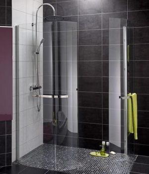 Des parois arrondies notre s lection de douches l 39 italienne pour votr - Paroi douche lapeyre ...