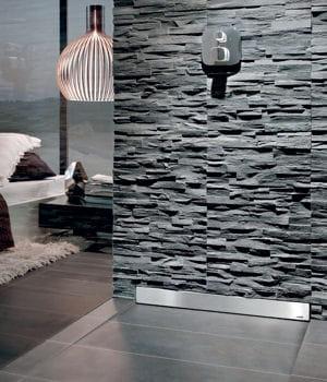 une douche qui se fond dans le d cor notre s lection de douches l 39 italienne pour votre salle. Black Bedroom Furniture Sets. Home Design Ideas