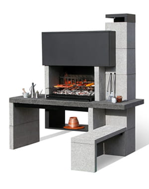 moderne 20 barbecues pour des grillades estivales linternaute. Black Bedroom Furniture Sets. Home Design Ideas