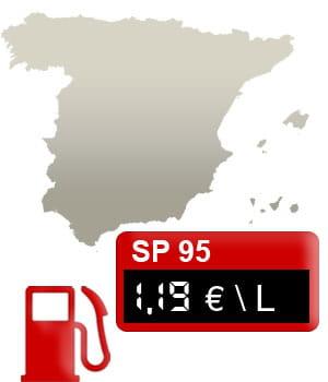 18 espagne 1 19 euro litre le prix de l 39 essence en europe linternaute. Black Bedroom Furniture Sets. Home Design Ideas