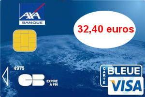2e axa banque visa 32 40 euros par an les cartes bancaires les moins ch res linternaute. Black Bedroom Furniture Sets. Home Design Ideas