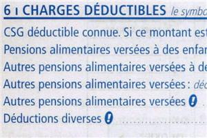 l'inscriptiondu montant de la pension alimentairese porteen haut de la page 2