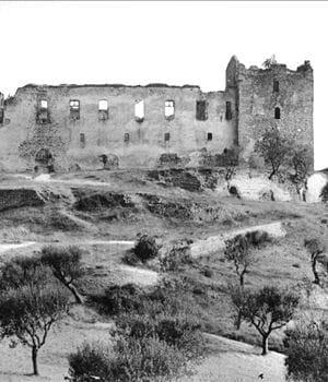 le château des templiers à gréoux-les-bains, alpes-de-haute-provence