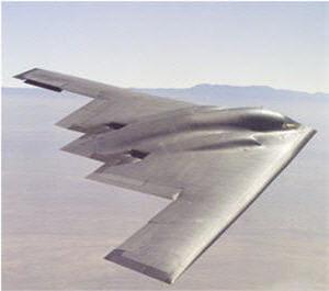 le b-2 spirit est le plus bel avion furtif américain.