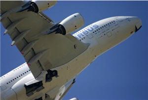 l'a-380 est le dernier modèle d'avion de transport élaboré par airbus.