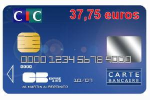 le cic propose également des cartes infinite, platinum, premier, gold, maestro,