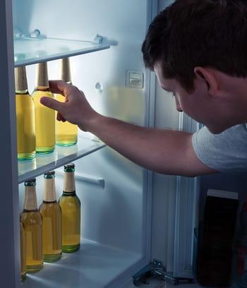 ranger les bouteilles la verticale 15 astuces pour optimiser le rangement dans son frigo. Black Bedroom Furniture Sets. Home Design Ideas