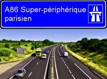 a86 super p riph rique parisien 12 66 centimes km classement des autoroutes les plus ch res. Black Bedroom Furniture Sets. Home Design Ideas