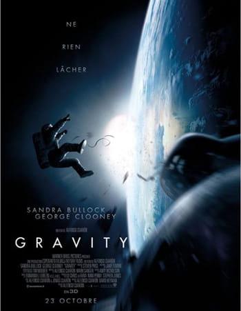 l'affiche du film 'gravity'