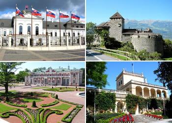 découvrez les résidences des chefs d'etats européens.