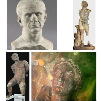des archéologues ont découvert une centaine d'objets de l'antiquité à arles,