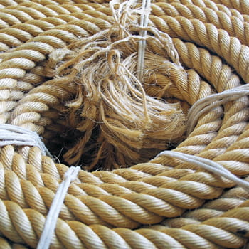 cordage à la corderie royale.