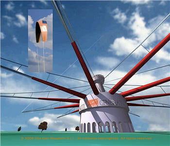ce projet de manège est développé par l'entreprise italienne kitegen.
