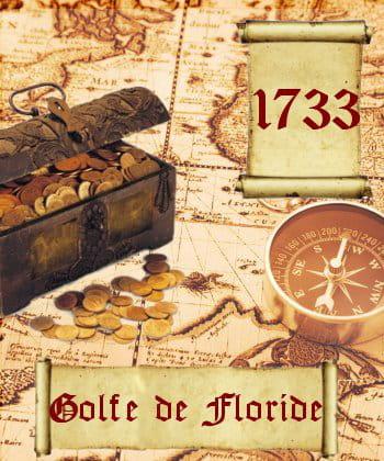 vingt navires de l'armada espagnole ont sombré en 1733 et avec eux, leurs