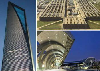 le classement des bâtiments les plus grands du monde