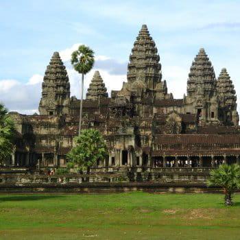 le temple d'angkor vat était un des lieux sacrés de l'empire khmer.