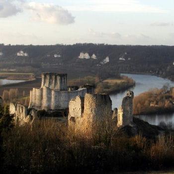 château-gaillard et ses apparitions
