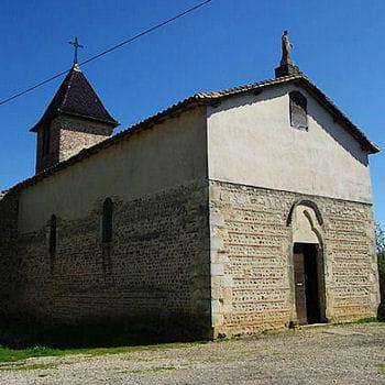 l'église de la chapelle du châtelard