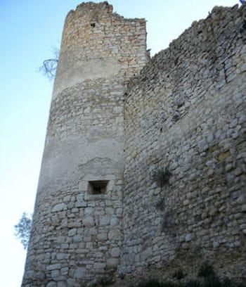 les ruines de gréoux-les-bains