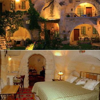 chambres troglodytes en cappadoce