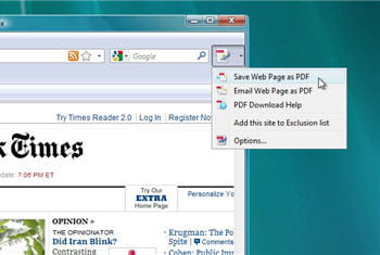 nitro convert web page to pdf