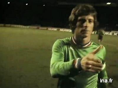 Finale de coupe d 39 europe 1976 saint etienne bayern de munich 30 v nements cultes dans la vie - St etienne coupe d europe ...