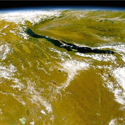 les rifts sont associés à la formation de grands lacs comme le lac baikal en