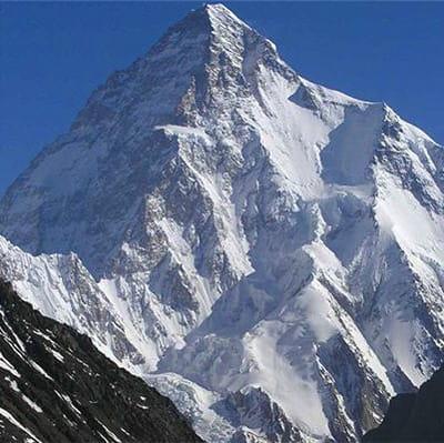 le k2 est le sommet le plus célèbre de la chaîne himalayenne.