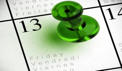 Tics en cours de fle vendredi 13 for Le numero 13 porte malheur