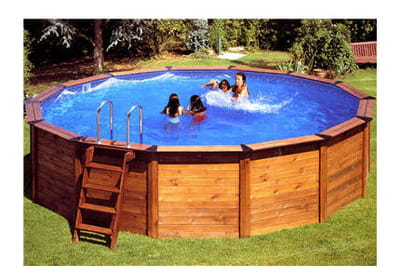 installer une piscine hors sol linternaute. Black Bedroom Furniture Sets. Home Design Ideas