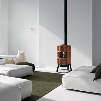 traditionnel s lection de 25 chemin es et po les bois linternaute. Black Bedroom Furniture Sets. Home Design Ideas