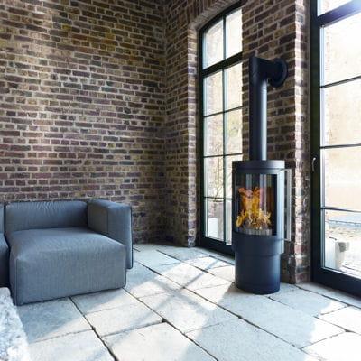 rotatif s lection de 25 chemin es et po les bois. Black Bedroom Furniture Sets. Home Design Ideas