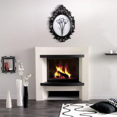 en noir et blanc s lection de 25 chemin es et po les. Black Bedroom Furniture Sets. Home Design Ideas