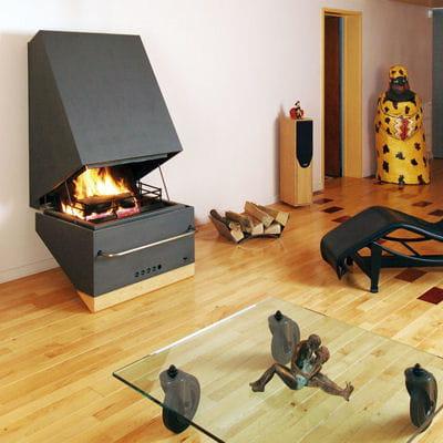 vintage s lection de 25 chemin es et po les bois linternaute. Black Bedroom Furniture Sets. Home Design Ideas