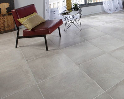 Carrelage gris clair for Carrelage sol gris clair