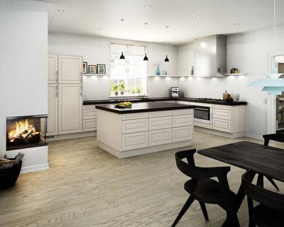 une cuisine authentique cuisines les tendances pour 2013 linternaute. Black Bedroom Furniture Sets. Home Design Ideas