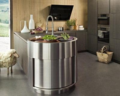 Une cuisine originale cuisines les tendances pour 2013 linternaute - Evier cuisine original ...