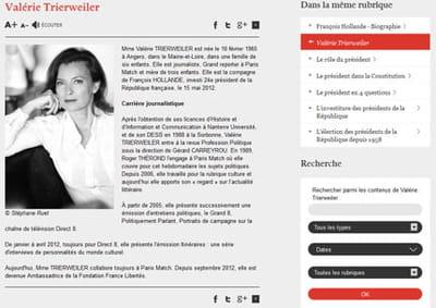 elysee trierweiler