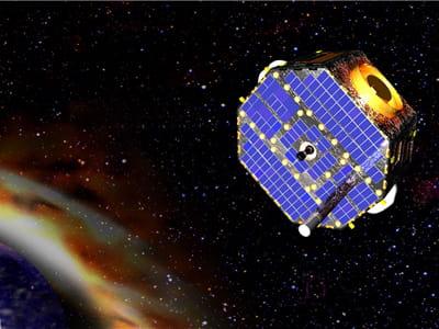 ibex a été lancé le 19 octobre dernier par la fusée pegasus.