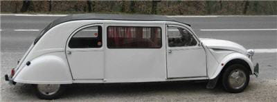 2cv limousine. Black Bedroom Furniture Sets. Home Design Ideas