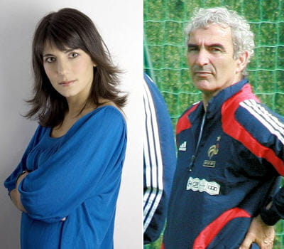 estelle denis et raymond domenech les couples du sport. Black Bedroom Furniture Sets. Home Design Ideas