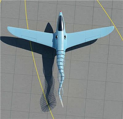 difficile d'imaginer que cet engin puisse voler.